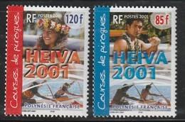POLYNESIE - N° 645/6  ** (2001) - Französisch-Polynesien