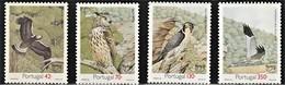 1993 Portugal Birds Of Prey Set (** / MNH / UMM) - Aigles & Rapaces Diurnes