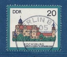 DDR Mi. 2977 Gest. Burg Rochsburg Bei Rochlitz TGST Berlin BPA = Bahnpostamt - Gebruikt