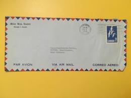 1965 BUSTA INTESTATA AIR MAIL CANADA  BOLLO OCHE ANNULLO OBLITERE' TORONTO - Lettres & Documents
