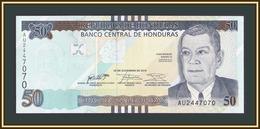 Honduras 50 Lempiras 2016 P-104 (104a) UNC - Honduras
