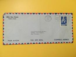 1966 BUSTA INTESTATA AIR MAIL CANADA  BOLLO OCHE ANNULLO OBLITERE' TORONTO - Lettres & Documents