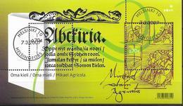 2007 Finnland   Mi. Bl 43 Used 450. Todestag Von Mikael Agricola. - Blocks & Kleinbögen