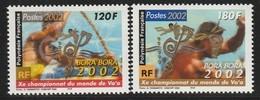 POLYNESIE - N° 661/2  ** (2002) - Französisch-Polynesien