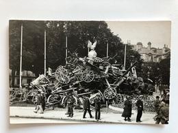 Foto Ak Geschutz Kanon Artillerie Paris? - Guerre 1914-18