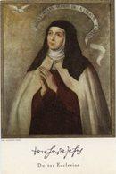 Firenze - Santino TERESA DE JESUS Doctor Ecclesiae - PERFETTO P42- - Religione & Esoterismo
