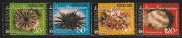 POLYNESIE - N° 663/6  ** (2002) Oursins - Französisch-Polynesien