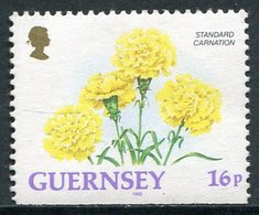 Guernesey 1993  Correo Yvert Nº  615 ** Serie Básica. Flores (Procedente De Car - Guernesey