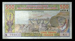 # # # Seltene Banknote Senegal 500 Francs 1971 # # # - Senegal