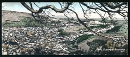 SANTU LUSSURGIU - ORISTANO - 1959 - PANORAMA - ACQUERELLATA -  FORMATO LUNGO ( Cm 20,5 X 9 ) - Oristano