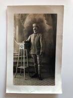 Foto Ak Soldat Poilu Regiment 2 Uniform Kepi 1917 !!named!! Sergent Fourrier Escadrille R.214 S.P. 215 - Guerre 1914-18