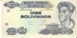 BOLIVIE - 10 Pesos Bolivianos 1986 - UNC - Bolivië