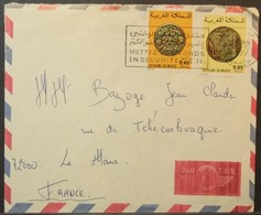 Morocco - Cover To France 1977 Coins - Morocco (1956-...)