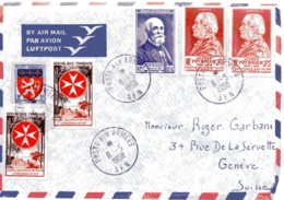 FRANCE / ENVELOPPE AVEC CACHET D'OBLITERATION POSTE AUX ARMEES AFN DE 1958 SP86705 - Storia Postale