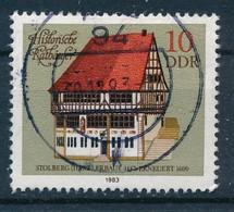 DDR Mi. 2775 Gest. Historisches Rathaus Stolberg Harz - Gebruikt