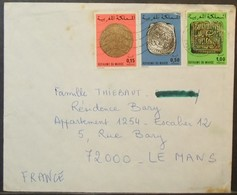 Morocco - Cover To France Coins - Morocco (1956-...)