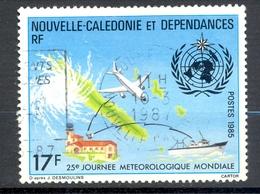 Timbre Oblité - NOUVELLE CALEDONIE - Journée Météorologique Mondiale - Y&T 500 - Neukaledonien
