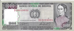 BOLIVIE - 1000 Pesos Bolivianos 1982 - UNC - Bolivië