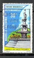 Timbre Oblité - NOUVELLE CALEDONIE - Aspects Du Vieux Nouméa - Fontaine Monumentale - Y&T 403 - Neukaledonien