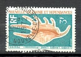 Timbre Oblité - NOUVELLE CALEDONIE - Coquillages Lambis Lambis Linne - Y&T 380 - Neukaledonien
