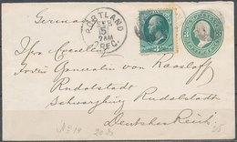 USA - 1883 Nice Cover - 1847-99 Emissions Générales