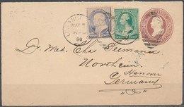 USA - 1888 Nice Cover - 1847-99 Emissions Générales