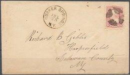 USA - Nice Cover - 1847-99 Unionsausgaben