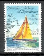 Timbre Oblité - NOUVELLE CALEDONIE - Coupe De L'América - Y&T 531 - Neukaledonien