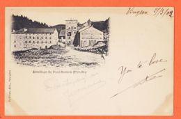 Nw423 FONT-ROMEU (66) ERMITAGE 1902 à HOSTALRICH Saint-Tropez Edition PY-OLIVER Perpignan Pyrénées Orientales - France