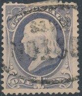 USA - 1870, US36, Benjamin Franklin, 1c - 1847-99 Emissions Générales