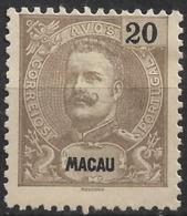 Macau Macao – 1900 King Carlos 20 Avos - Macau