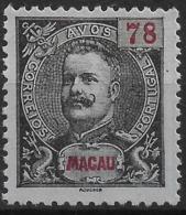 Macau Macao – 1900 King Carlos 78 Avos - Macau