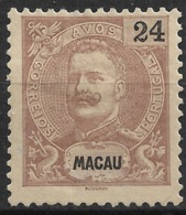 Macau Macao – 1898 King Carlos 24 Avos - Macau
