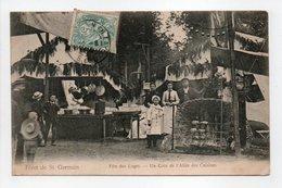 - CPA FÔRET DE SAINT-GERMAIN (78) - Fête Des Loges 1904 - Un Coin De L'Allée Des Cuisines (belle Animation) - - St. Germain En Laye