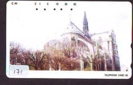 Telecarte * EGLISE  - Church (171)  CHAPELLE - Chapel - KERK - Religie - Religion - Phonecard - Phonecards