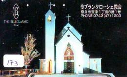 Telecarte * EGLISE  - Church (173)  CHAPELLE - Chapel - KERK - Religie - Religion - Phonecard - Phonecards