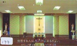 Telecarte * EGLISE  - Church (177)  CHAPELLE - Chapel - KERK - Religie - Religion - Phonecard - Phonecards