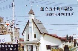 Telecarte * EGLISE  - Church (181)  CHAPELLE - Chapel - KERK - Religie - Religion - Phonecard - Phonecards