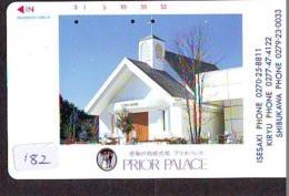 Telecarte * EGLISE  - Church (182)  CHAPELLE - Chapel - KERK - Religie - Religion - Phonecard - Phonecards