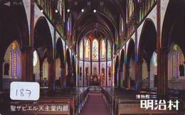 Telecarte * EGLISE  - Church (187)  CHAPELLE - Chapel - KERK - Religie - Religion - Phonecard - Phonecards