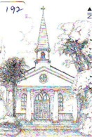 Telecarte * EGLISE  - Church (192)  CHAPELLE - Chapel - KERK - Religie - Religion - Phonecard - Phonecards