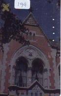 Telecarte * EGLISE  - Church (199)  CHAPELLE - Chapel - KERK - Religie - Religion - Phonecard - Phonecards