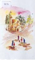 Telecarte * EGLISE  - Church (204)  CHAPELLE - Chapel - KERK - Religie - Religion - Phonecard - Phonecards