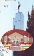 Telecarte * EGLISE  - Church (208)  CHAPELLE - Chapel - KERK - Religie - Religion - Phonecard - Phonecards