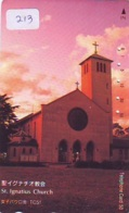 Telecarte * EGLISE  - Church (213)  CHAPELLE - Chapel - KERK - Religie - Religion - Phonecard - Telefoonkaarten