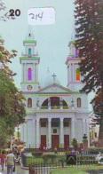 Telecarte * EGLISE  - Church (214)  CHAPELLE - Chapel - KERK - Religie - Religion - Phonecard - Telefoonkaarten