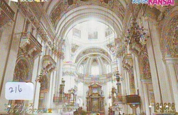 Carte Prepayee * EGLISE  - Church (216)  CHAPELLE - Chapel - KERK - Religie - Religion - Prepaid Card - Telefoonkaarten