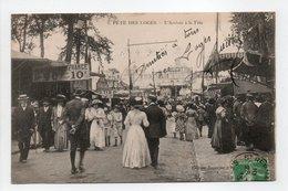 - CPA SAINT-GERMAIN-EN-LAYE (78) - FÊTE DES LOGES 1913 - L'Arrivée à La Fête (belle Animation) - Edition Ravanne N° 2 - - St. Germain En Laye