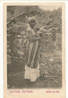 CPA, Précurseur ,Capo Verde , Sao Vicente, Muther Com Filho ,Ed. Dos Simple 1904 - Cabo Verde