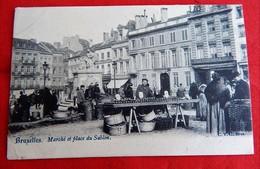 BRUXELLES -   Marché Et Place Du Sablon - Marchés